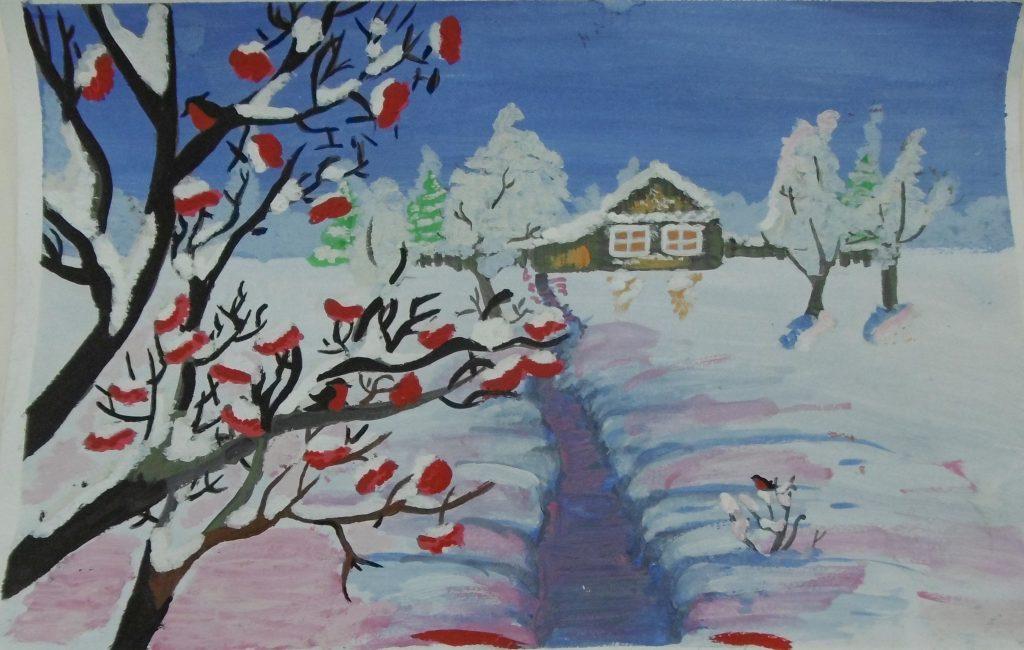 Зимний пейзаж Голубчикова Александра