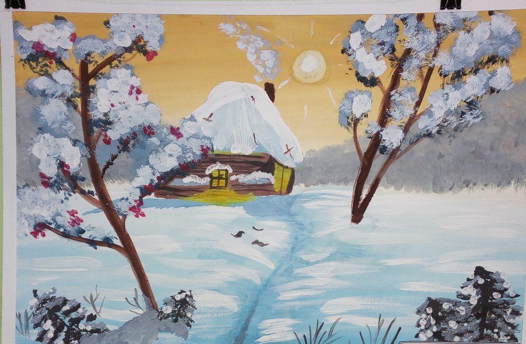 Шалаева Лиза, Зимняя сказка