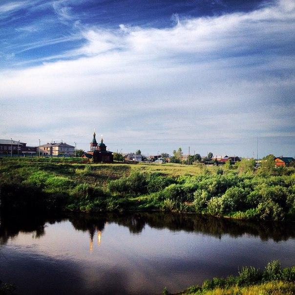 4.Река Реж в селе Костино